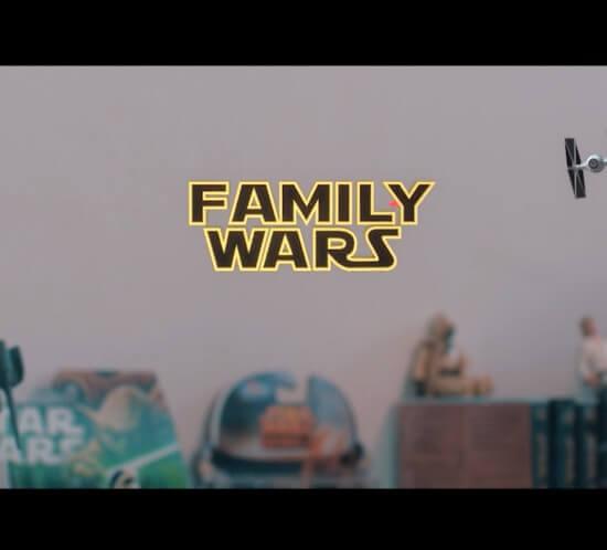 Family Wars - geluidsnabewerking • sound design • dubbing